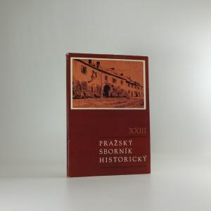náhled knihy - Pražský sborník historický XXIII