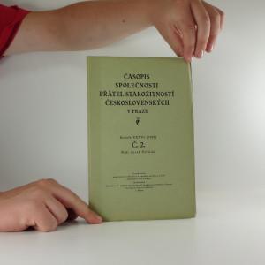 náhled knihy - Časopis společnosti přátel starožitností Československých v Praze, ročník XXXVI, číslo II