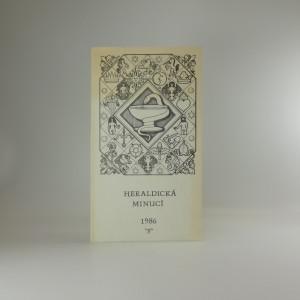 náhled knihy - Heraldická minucí