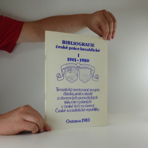 náhled knihy - Bibliografie české práce heraldické I. 1901-1980