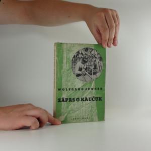 náhled knihy - Zápas o kaučuk