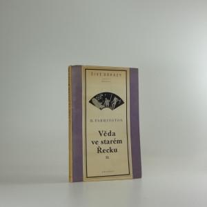 náhled knihy - Věda ve starém Řecku a její význam pro nás, díl II, Od Theofrasta po Galena
