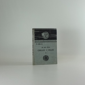 náhled knihy - Obrany v Praze : r. 1408-1412, svazek I