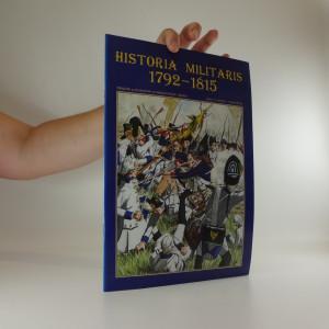 náhled knihy - Historia militaris 1792-1815. číslo 1 ročník I.