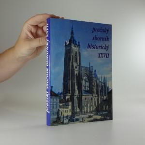 náhled knihy - Pražský sborník historický XXVII