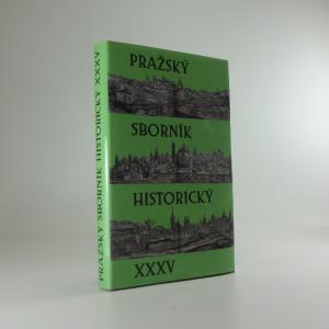 náhled knihy - Pražský sborník historický XXXV