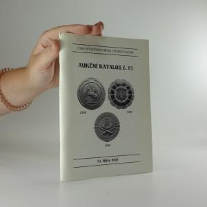 náhled knihy - Aukční katalog č. 83
