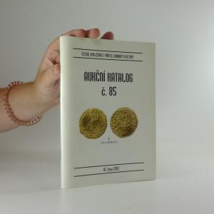 náhled knihy - Aukční katalog č. 85