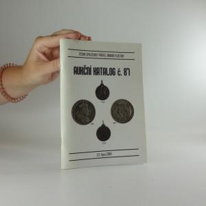 náhled knihy - Aukční katalog č. 87