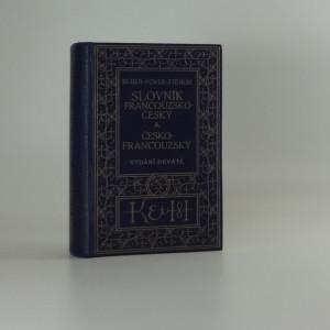 náhled knihy - Slovník francouzsko český