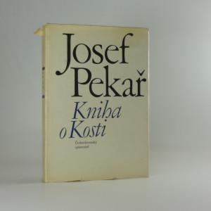 náhled knihy - Kniha o kosti (ke stému výročí autorova narození)