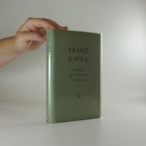 náhled knihy - Popis jednoho zápasu : novely, črty, aforismy z pozůstalosti