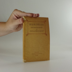 náhled knihy - Rukopisy Zelenohorský a Královédvorský