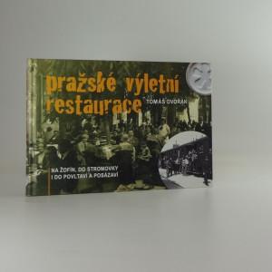 náhled knihy - Pražské výletní restaurace