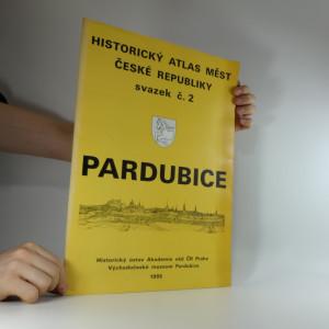 náhled knihy - Historický atlas měst České Republiky svazek č. 2 Pardubice
