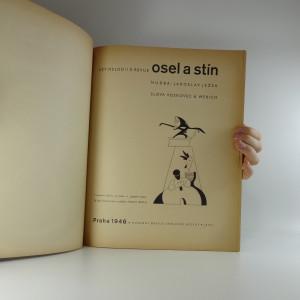 antikvární kniha Pět melodií z revue Osel a stín, 1946