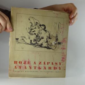 náhled knihy - Boje a zápasy avantgardy českého moderního umění  (nekompletní)