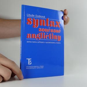 náhled knihy - Syntax současné angličtiny : sbírka textů a příkladů k syntaktickému rozboru