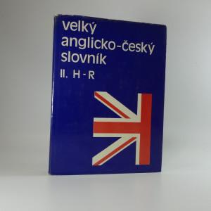 náhled knihy - Velký anglicko-český slovník II H-R