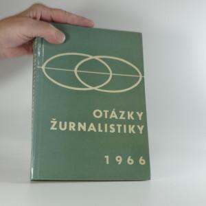 náhled knihy - Otázky žurnalistiky 1966