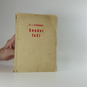náhled knihy - Soudní řeči - vyšinskij a.j.