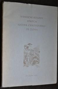 náhled knihy - Vánoční koledy strýca  Jozefa Cekotového ze Zlína