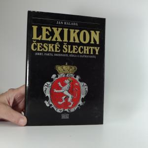 náhled knihy - Lexikon české šlechty - Erby, fakta, osobnosti, sídla a zajímavosti. Díl 1