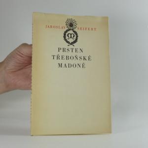náhled knihy - Prsten třeboňské madoně