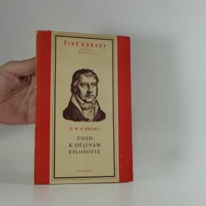 náhled knihy - Úvod k dějinám filosofie