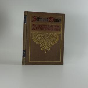 náhled knihy - Z rodiny a domácnosti staročeské : ze života XVI. století. Řada druhá