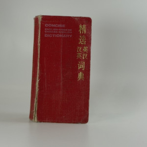 náhled knihy - Concise English-Chinese Chinese-English dictionary