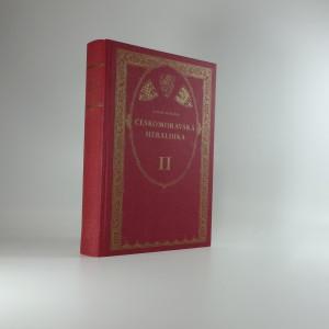 náhled knihy - Českomoravská heraldika