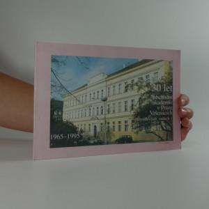 náhled knihy - 30 let obchodní akademie v Praze Vršovicích