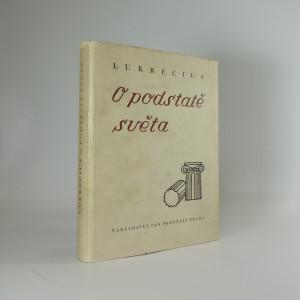 náhled knihy - O podstatě světa - Lukrecius