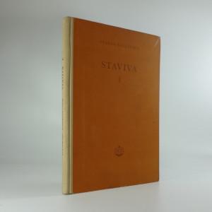 náhled knihy - Staviva I. díl