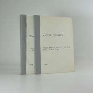 náhled knihy - Zborník prednášok výzkum výroba a použitie ocelových lám