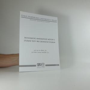 náhled knihy - Ekonomicko matematické metody II