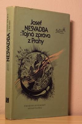 náhled knihy - Tajná zpráva z Prahy : Futuro-román
