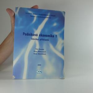 náhled knihy - Podniková ekonomika 1 : sbírka příkladů