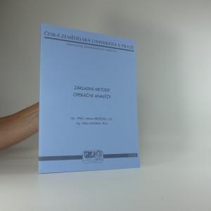 náhled knihy - Základní metody operační analýzy