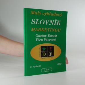 náhled knihy - Malý výkladový slovník marketingu