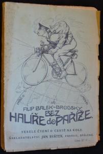 náhled knihy - Bez halíře do Paříže: Veselé čtení o cestě na kole