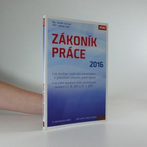 náhled knihy - Zákoník práce 2016