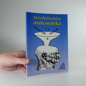 náhled knihy - Středoškolská matematika ve vzorcích a větách