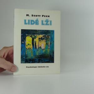 náhled knihy - Lidé lži : psychologie lidského zla