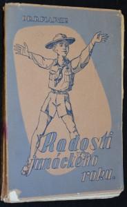 náhled knihy - Radosti junáckého roku: prvý stupeň