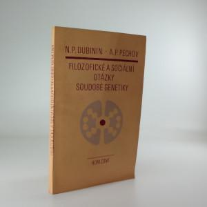 náhled knihy - Filozofické a sociální otázky soudobé genetiky