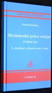 náhled knihy - Mezinárodní právo veřejné: Zvláštní část