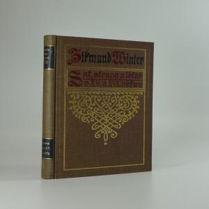 náhled knihy - Šat, strava a lékař v XV. a XVI. věku