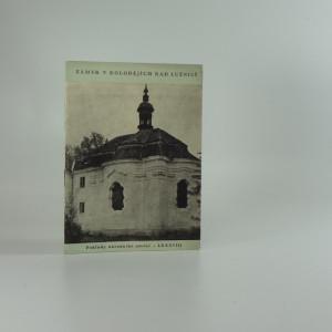 náhled knihy - Zámek v Kolodějích nad Lužnicí